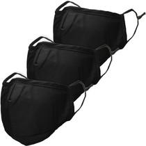 iMoshion 3-Pack Herbruikbaar, wasbaar mondkapje 3-laags katoen