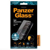 PanzerGlass Case Friendly Screenprotector iPhone 12 (Pro) - Zwart