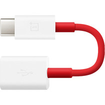 OnePlus USB naar USB-C adapter OTG - Rood