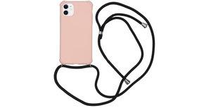 iMoshion Color Backcover met koord iPhone 11 - Roze