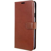Valenta Leather Booktype OnePlus 7 - Bruin