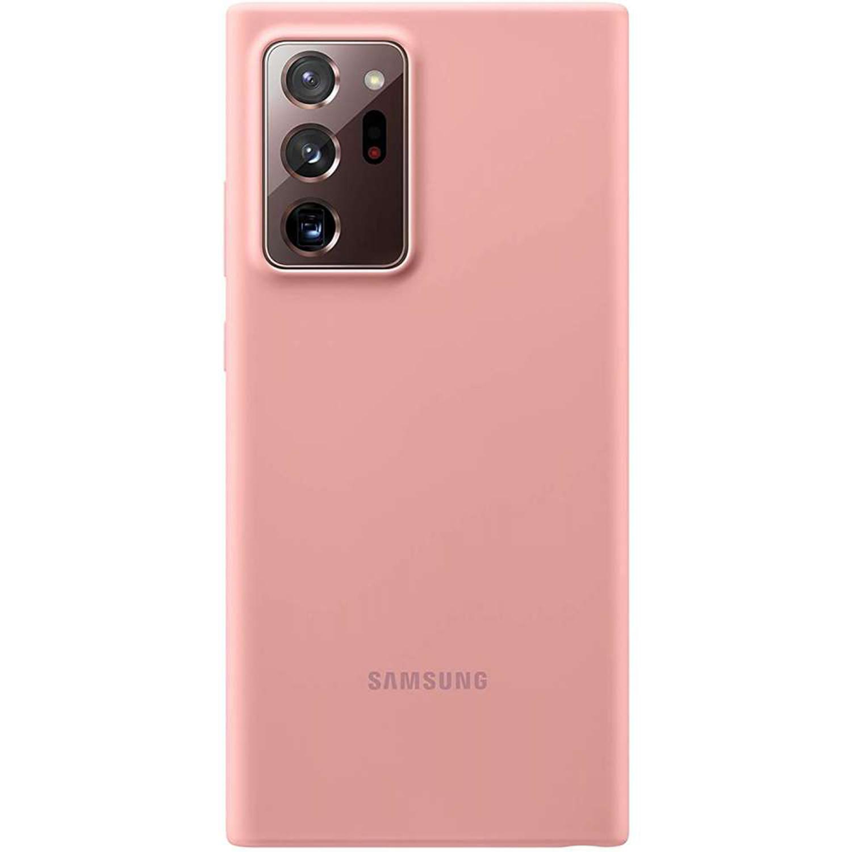 Silicone Backcover voor de Galaxy Note 20 Ultra Mystic Bronze