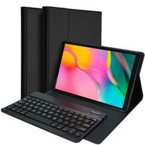 Accezz QWERTY Bluetooth Keyboard Bookcase Galaxy Tab A 10.1 (2019)