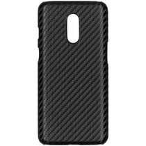 Carbon Hardcase Backcover OnePlus 7 - Zwart