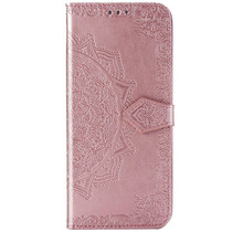 Mandala Booktype Sony Xperia 5 - Rosé Goud
