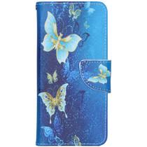 Design Softcase Booktype Nokia 1.3 - Vlinders