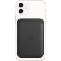 Apple Leather Wallet MagSafe - Black