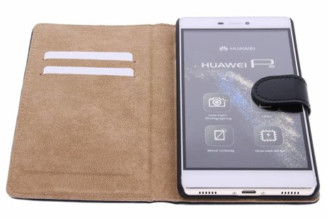 Huawei P8 hoesje - Selencia Luxe Hardcase Booktype