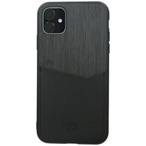 Valenta Card Slot Backcover iPhone 11 - Zwart
