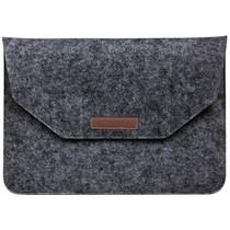 Vilten Soft Sleeve 11-12 inch - Donkergrijs