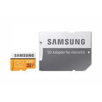 Samsung 32GB EVO microSDHC geheugenkaart klasse 10 + adapter