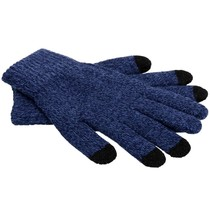 iMoshion Blauw effen touchscreen handschoenen