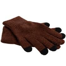 iMoshion Bruin effen touchscreen handschoenen