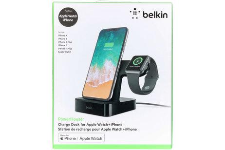 Belkin PowerHouse™ Charge Dock iPhone + Apple Watch - Zwart
