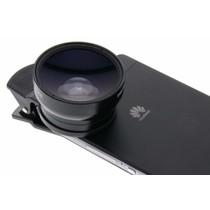 Universele 2 in 1 Clip Lens 0,45X