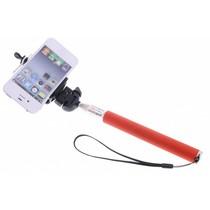 Rood Bluetooth selfie stick
