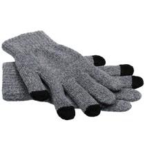 iMoshion Grijs effen touchscreen handschoenen