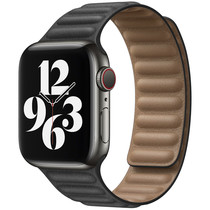 iMoshion Vegan lederen bandje Apple Watch Series 1 t/m 6 / SE-38/40mm
