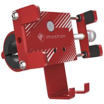 iMoshion Universele aluminium telefoonhouder fiets - Rood