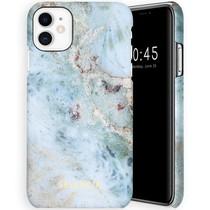 Selencia Maya Fashion Backcover iPhone 11 - Marble Blue