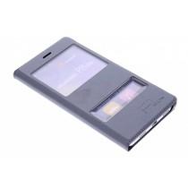 Slim Booktype met venster Huawei P8 Lite