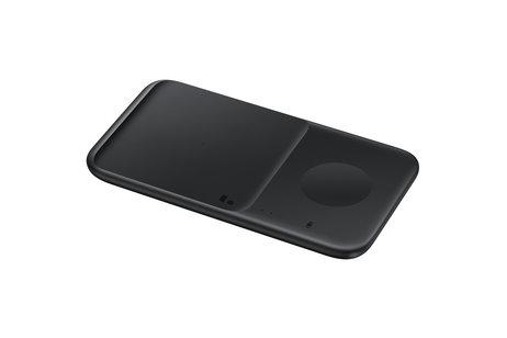 Samsung Wireless Charger Duo Galaxy Phone / Watch / Buds / iPhone / AirPods - Zwart