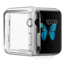 iMoshion Softcase + Screenprotector Apple Watch Serie 1-3 38 mm