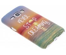 Design Hardcase Backcover Samsung Galaxy J1
