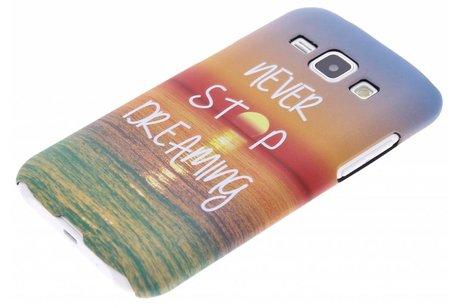 Design Hardcase Backcover voor Samsung Galaxy J1