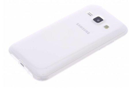 Samsung Galaxy J1 hoesje - Ultra Thin Transparant Backcover