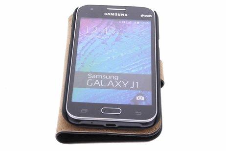 Samsung Galaxy J1 hoesje - Selencia Luxe Hardcase Booktype