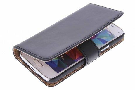 Samsung Galaxy S5 Mini hoesje - Luxe Hardcase Booktype voor