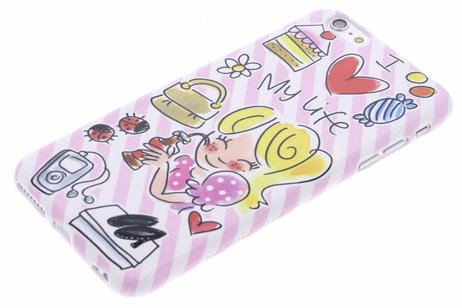 iPhone 6(s) Plus hoesje - Blond Amsterdam Design Backcover
