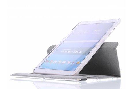 360° Draaibare Design Bookcase voor Samsung Galaxy Tab E 9.6