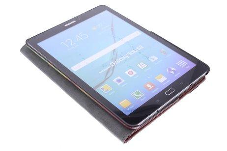 360° Draaibare Design Bookcase voor Samsung Galaxy Tab S2 9.7 - Dromenvanger