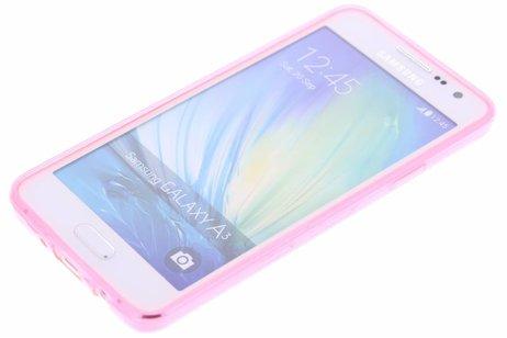 Samsung Galaxy A3 hoesje - Ultra Thin Transparant Backcover