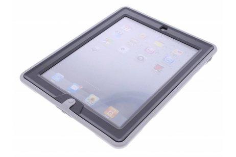 Defender Backcover met strap voor iPad 2 / 3 / 4 - Grijs