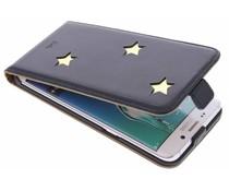 Fab. Gold Reversed Star Flipcase Galaxy S6 Edge Plus