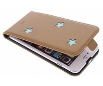 Fab. Aqua Reversed Star Flipcase iPhone 6(s) Plus