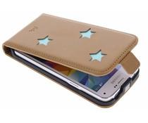 Fab. Aqua Reversed Star Flipcase Samsung Galaxy S5 Mini