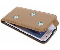 Fab. Aqua Reversed Star Flipcase Samsung Galaxy S6