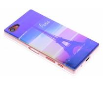 Metallic design TPU hoesje Sony Xperia Z5 Compact
