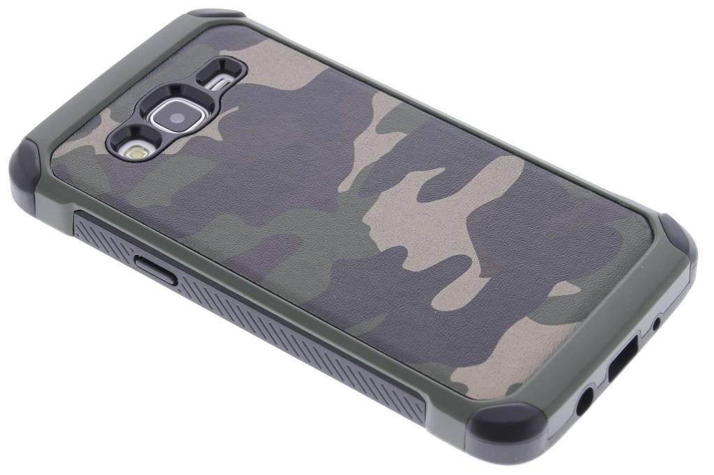 Army Defender Backcover voor Samsung Galaxy J5 - Groen