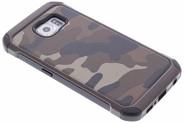 Army Defender Backcover voor Samsung Galaxy S6 - Bruin
