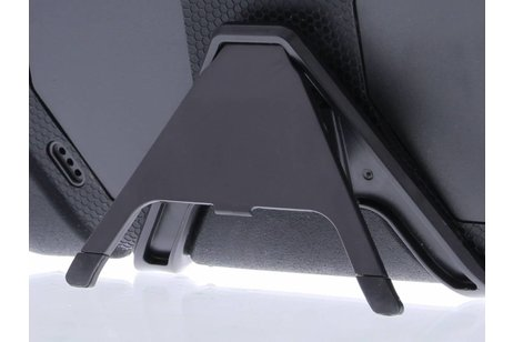 Extreme Protection Army Backcover voor iPad 2 / 3 / 4 - Zwart
