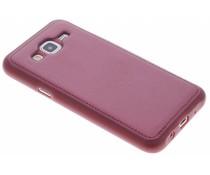 Lederen Backcover Samsung Galaxy J5