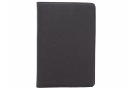 360° Draaibare Bookcase voor iPad Mini 4 - Zwart
