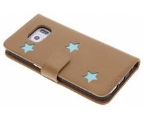 Fab. Aqua Reversed Star Booktype Galaxy S6 Edge Plus