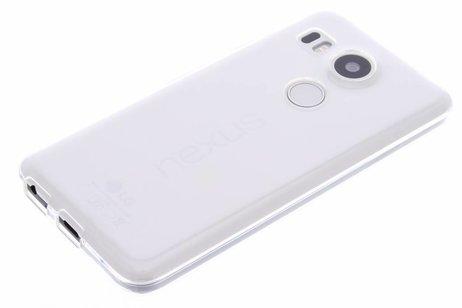 LG Nexus 5X hoesje - Softcase Backcover voor LG