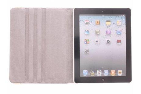 360° Draaibare Design Bookcase voor iPad 2 / 3 / 4 - Dromenvanger Paars